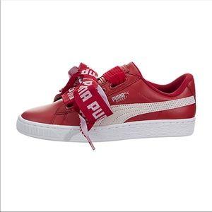 ae85d62e7128 Puma Shoes - Puma Basket Heart De trainer Toreador NWT